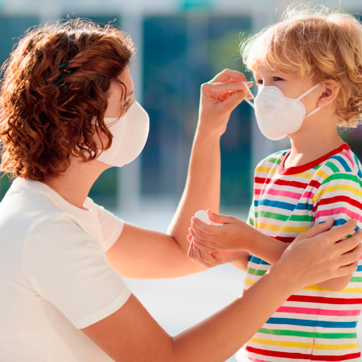 Riepilogo protezione mascherine