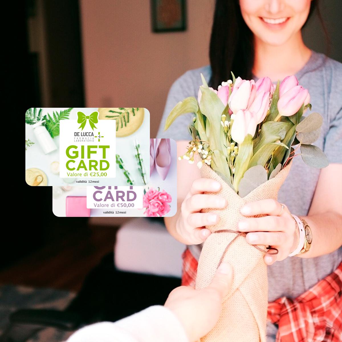 Regala benessere e bellezza con le nostre gift card.