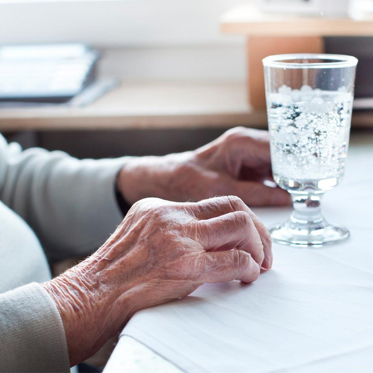 Disidratazione negli anziani